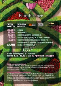 FloraFirenze FlyerA5 retro