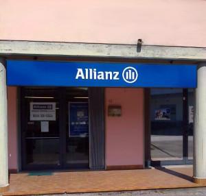 Arkmedia Insegne Allianz Poggio a Caiano