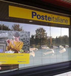 Guerrilla Marketing Firenze Arkmedia Poste Italiane Italiafil