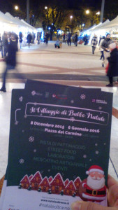 Guerrilla Marketing Firenze Arkmedia Villaggio di Babbo Natale