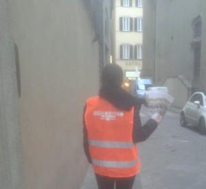 Guerrilla Marketing Firenze by Arkmedia Signorvino
