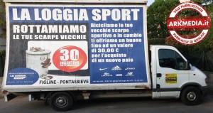 Vele Pubblicitarie Figline by Arkmedia: La Loggia Sport