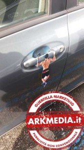 guerrilla marketing firenze by arkmedia
