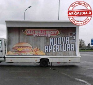 vele pubblicitarie cascina Arkmedia